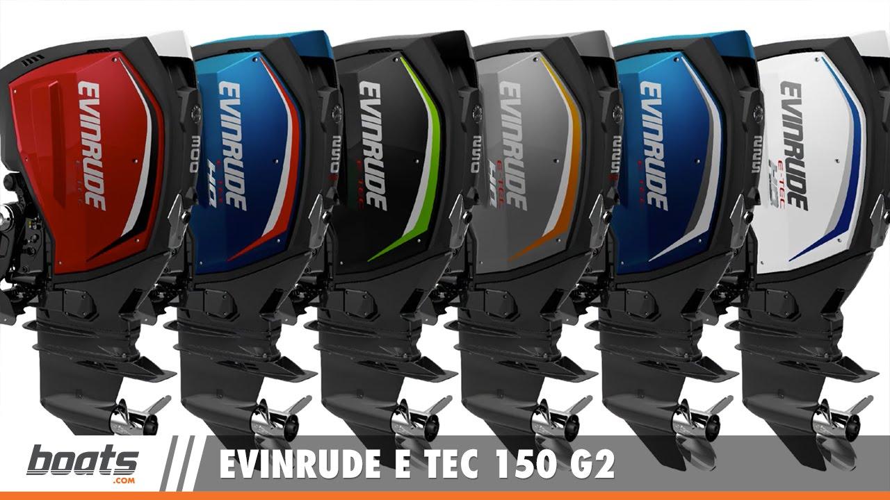 A Peek at the New Evinrude E TEC 150 G2