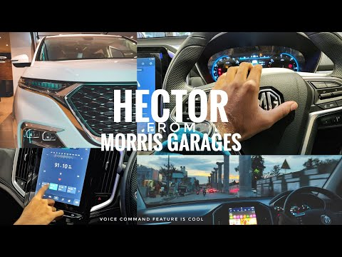 MG HECTOR | TEST RIDE | EXPERIENCE | SHOWROOM IN BANGALORE |