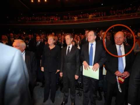 European People's Party in Bucharest, Romania, hosted by unpopular President Basescu
