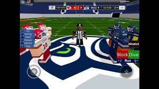 Roblox football highlights Seahawks vs chiefs