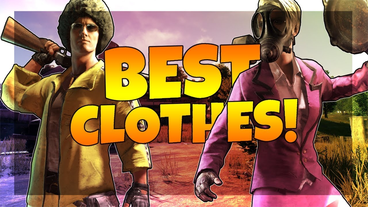 Pubg Character: BEST CHARACTER CLOTHES IN PUBG! (PlayerUnknown's