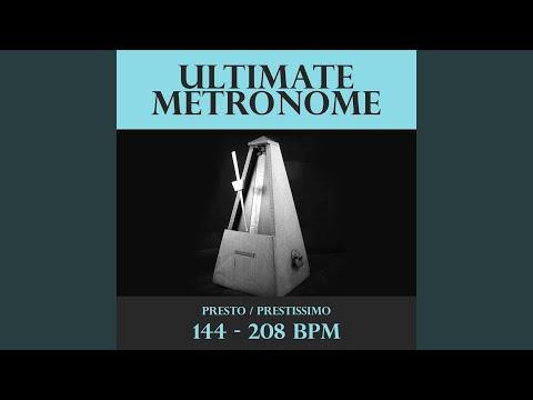 Metronome  166 BPM  Presto
