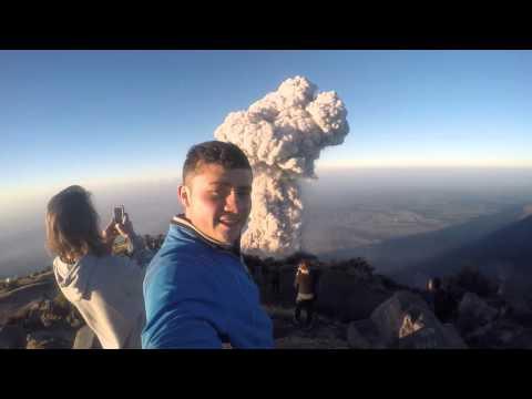 Cima de Volcán Santa Maria febrero 6, 2016