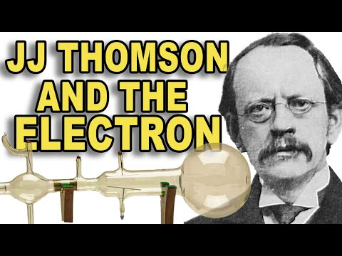 JJ thomson and his electron