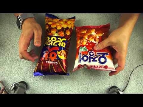 Korean Snacks from Treats - ASMR