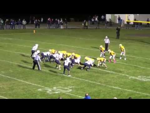 Chris Miller Senior Year Football Highlights