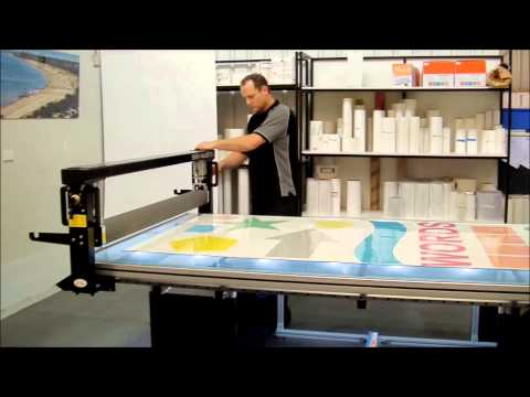 Sign Master Applicator Table from Lamination System