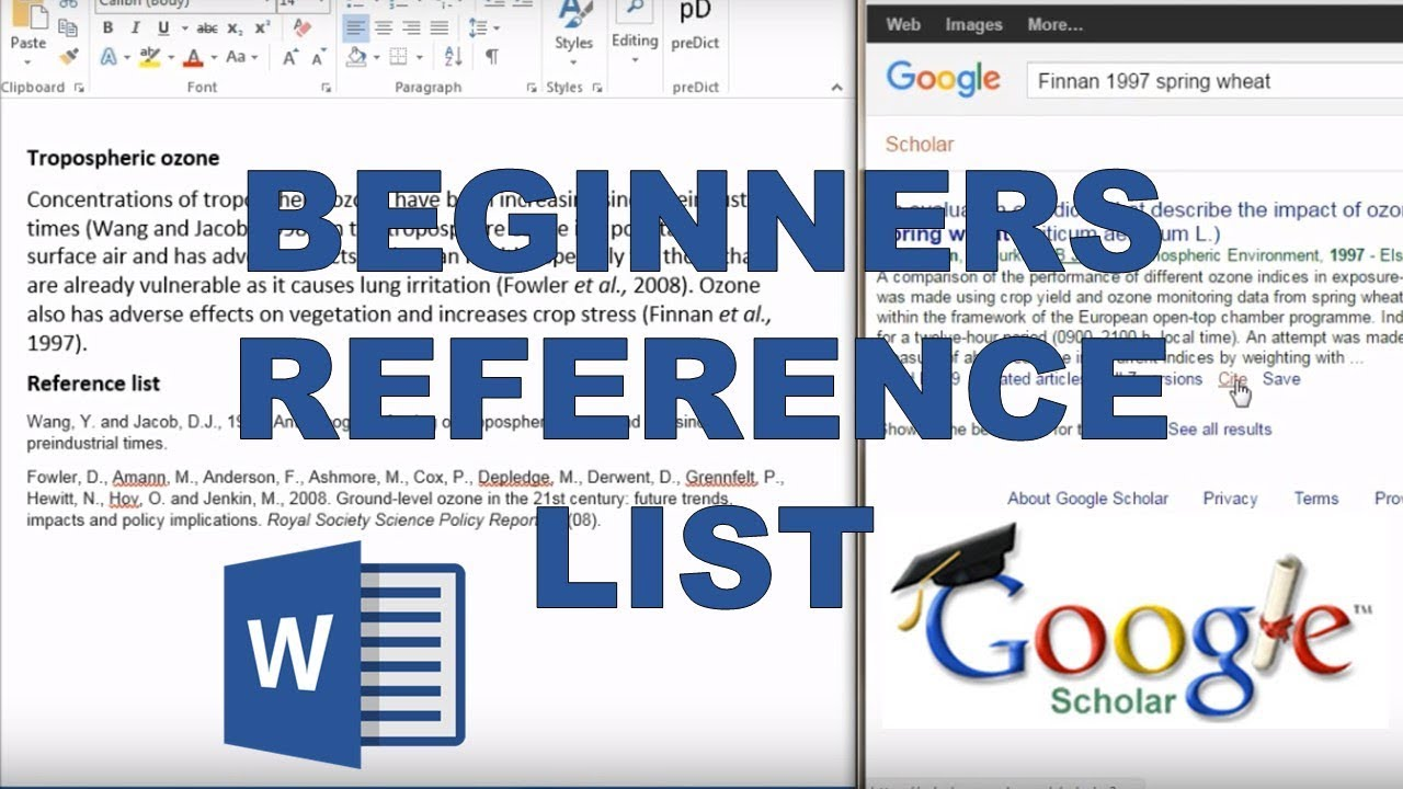 how to create a reference list for a resume