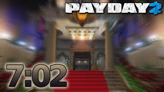 PAYDAY 2 - Golden Grin Casino - Speedrun 7:02m - [Solo - DS/OD]