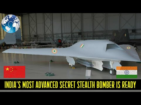 Indias most advanced Secret Stealth Unmanned Combat Vehicle is Ready Ghatak AURA UCAV