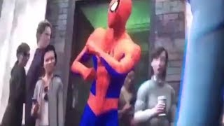 Peter Parker Evil's Dance | Spider-Man: Into the Spider-Verse (2018) Movie Clip
