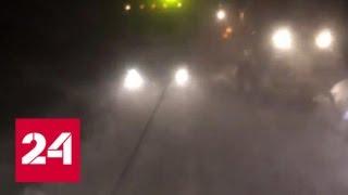 Южную часть острова Сахалин засыпало снегом - Россия 24