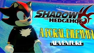 Lego Sonic Dimensions Shadow the Hedgehog A Floral Dilemma Mission