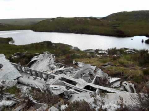 B24 Liberator Wreck, Fairy Lochs,Gairloch, Scotland
