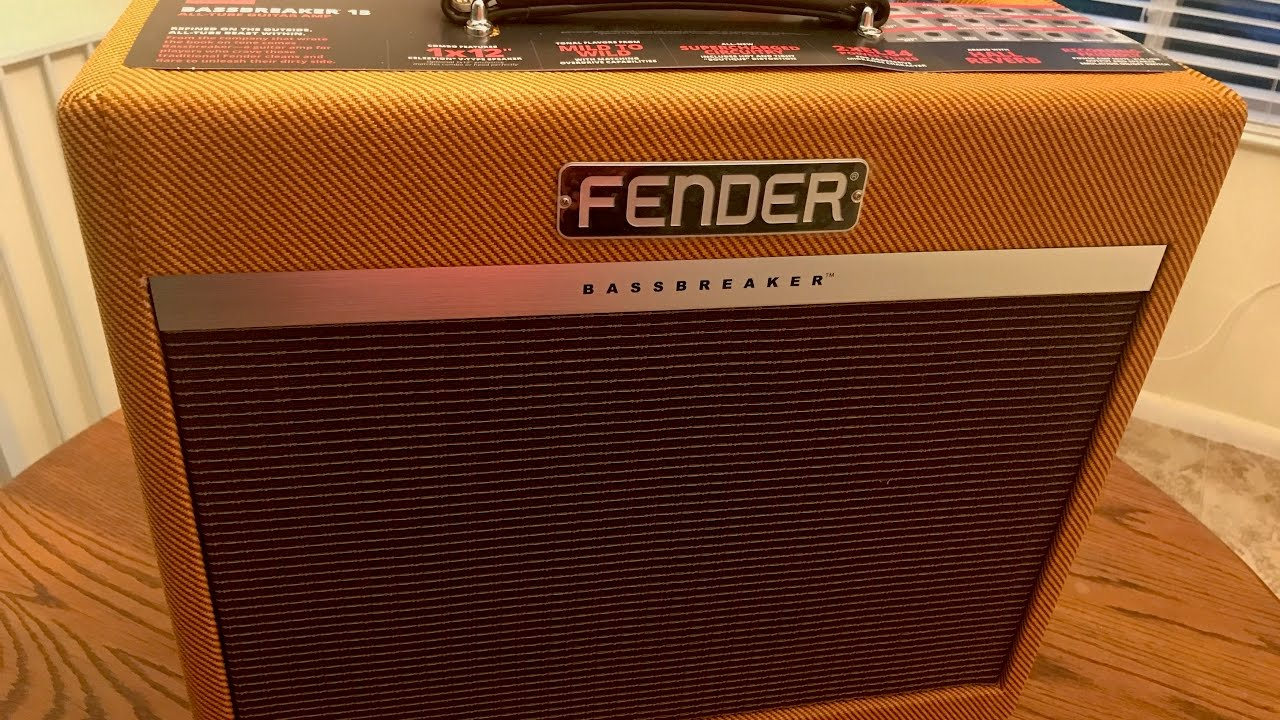 fender bassbreaker 15 from blues to metal youtube. Black Bedroom Furniture Sets. Home Design Ideas