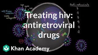 Treating HIV: Antiretroviral drugs | Infectious diseases | NCLEX-RN | Khan Academy