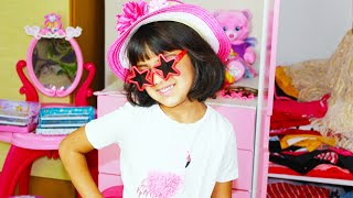 Ashu and Mummy Getting Ready to go Party Changing Dresses | Katy Cutie Show