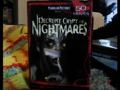 eBay Haul Video: Decrepit Crypt of Nightmares 50 Movies DVD Collection