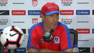 Pedro Troglio, entrenador del CD Olimpia