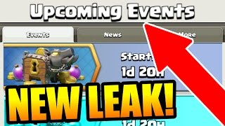Clash Of Clans - NEW TROOP & NEW SPELL EVENT LEAKED!!