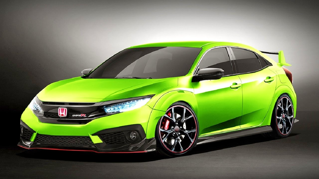 Honda Civic Type R Hatchback 2016 First Look