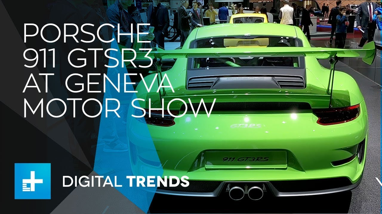 Porsche 911 – First Look at Geneva Motor Show 2018