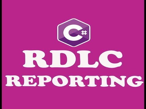 ( PART-1 ) RDLC REPORTING IN WINFORM C# (URDU / HINDI)