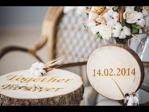 Смотреть клип Самая красивая свадьба в стиле