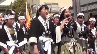 2018年4月8日 Fioreの黒田あやめちゃんと中村栞菜ちゃんが、赤穂浪士の...