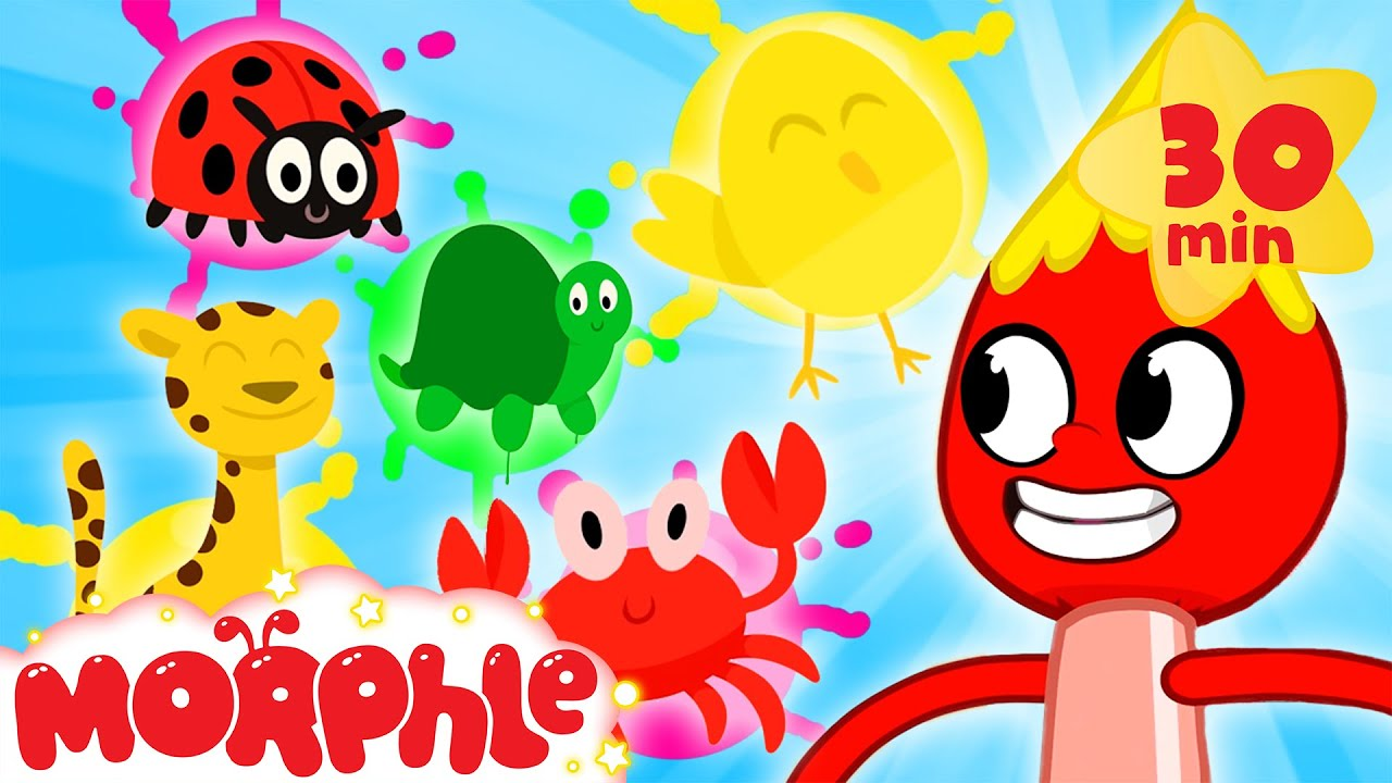 My Magic Colors with Morphle - Painting & Drawing | Kids Videos