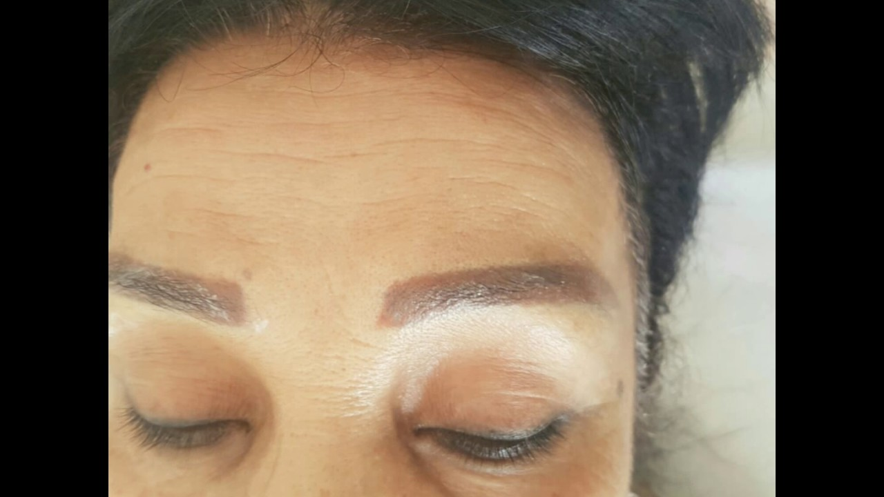 Correction De Tatouage Sourcils Rate Tunisie 96333 337 Youtube