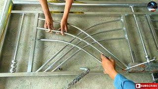 Stainless Steel Design For Balcony Railing || how to make stainless steel balcony railing
