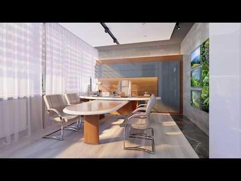 Дизайн интерьера офиса (завод Плутон Запорожье)