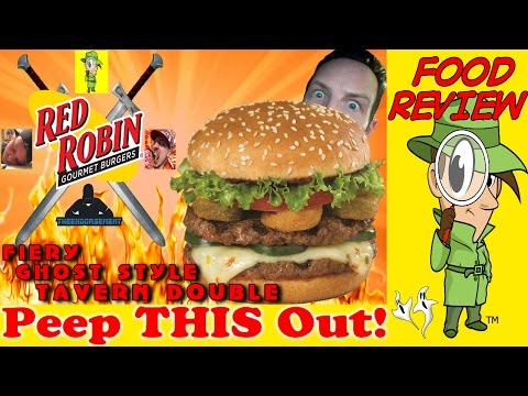 Red Robin® | Fiery Ghost Style Tavern Double – 4 Channel Collab Review! Peep THIS Out!
