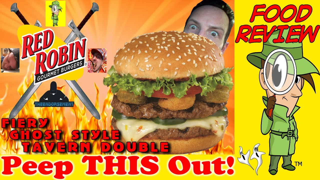 Red Robin® | Fiery Ghost Style Tavern