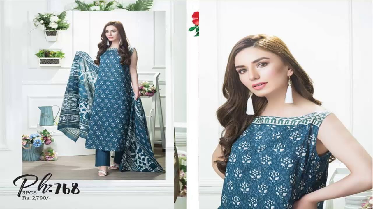 5b1ce60495 Taana Baana Eid Dresses 2018 For Women - YouTube