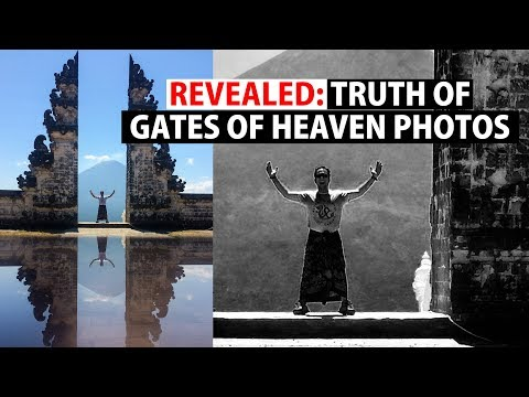 TRUTH of Gates of Heaven photos | Lempuyang Temple EAST BALI | Indonesia Ep 11