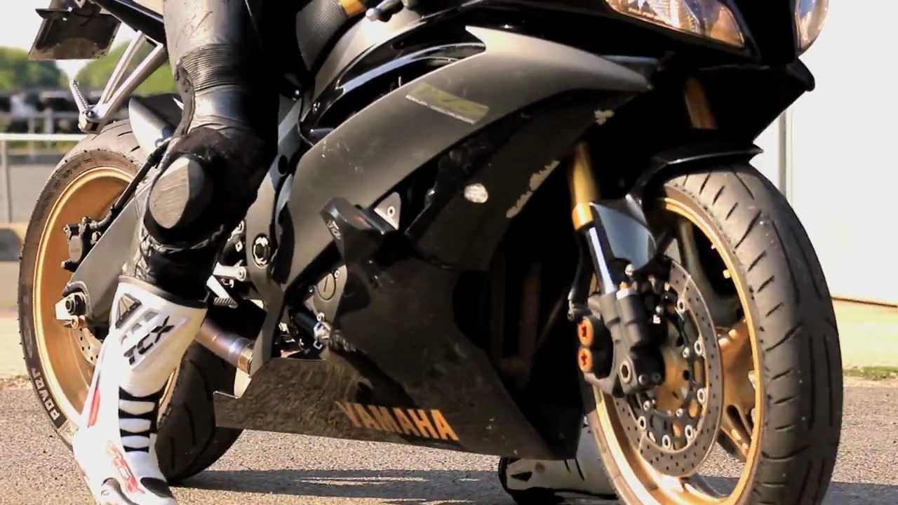 Yamaha R6 Black And Gold Circuit Carole Music By 2s