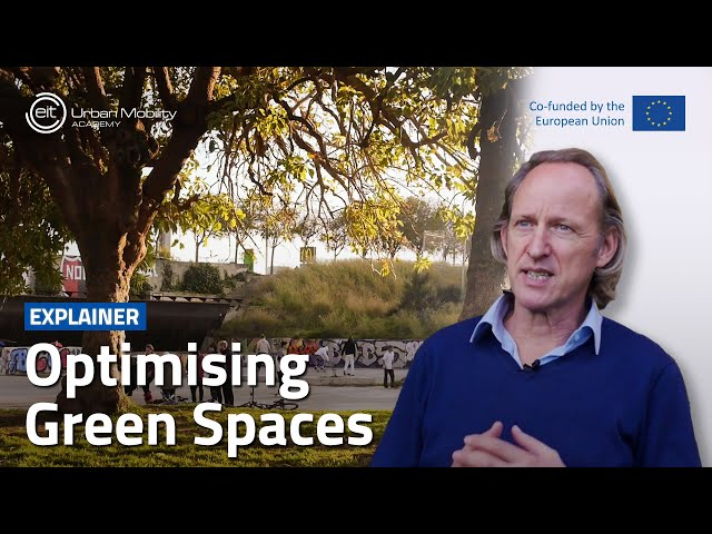 How can green spaces create healthier cities?