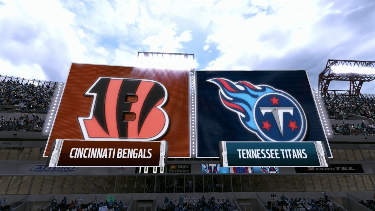 Image result for Cincinnati Bengals vs. Tennessee Titans