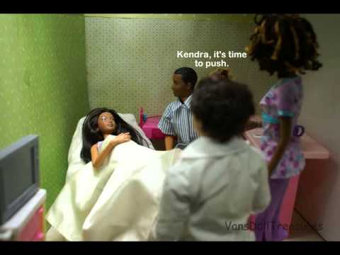A Barbie Fashion Doll Story: Ep 79 Kendra Gives Birth ...