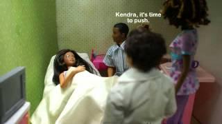 A Barbie Fashion Doll Story: Ep 79 Kendra Gives Birth