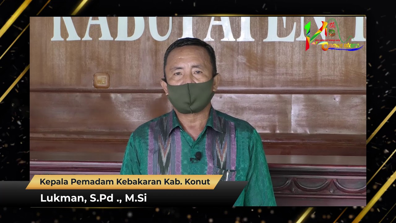 Ucapan HUT Ke-14 Kabupaten Konawe Utara Lukman, S.Pd., M.Si