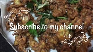 Onion Pakoda | Crispy Onion Pakoda | How to make Onion Pakoda | kanda bhaji | Tea Time snacks |
