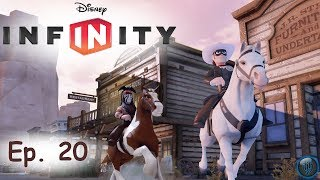 disney infinity lone ranger ep 20 water wings crow pack hard challenge