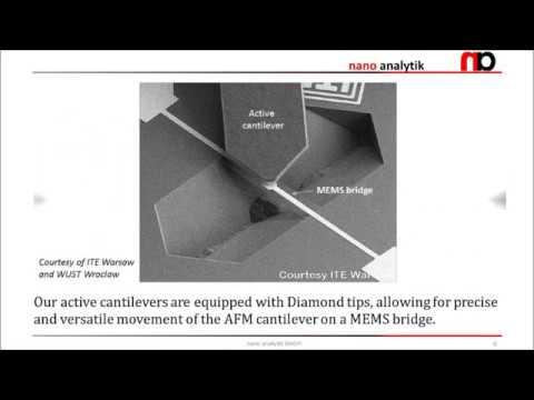 AFMinSEM Part 3 - MEMS characterization and nanomanipulation