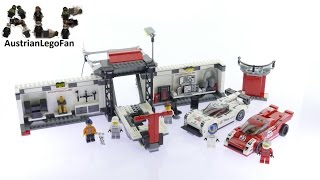 lego speed champions 75876 porsche 919 hybrid and 917k pit lane lego speed build review