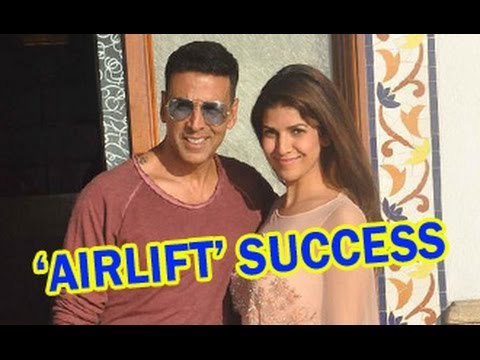 Akshay Kumar & Nimrat Kaur Talk on ''Airlift'' Success   Interview   Nikhil Advani