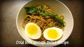 Cold Rice Noodle Salad Recipe | By Victoria Paikin