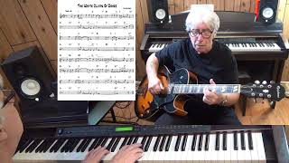 The White Cliffs Of Dover - Jazz guitar & piano cover ( Walter Kent )